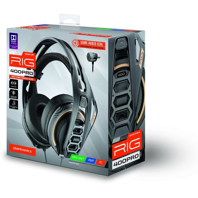 Plantronics RIG 400PROHC Gaming Headset (Xbox One, PS4, PC)