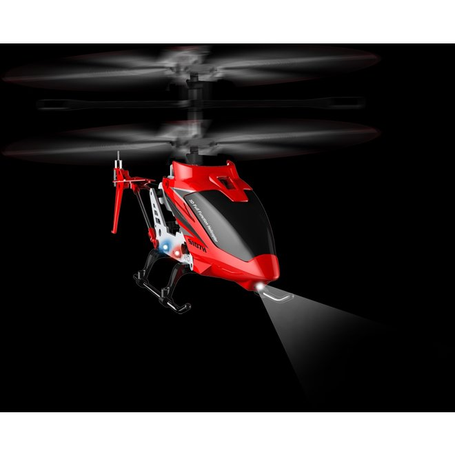 Syma S107H Phantom RC Helicopter - Rood