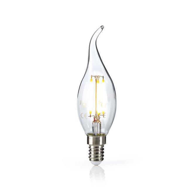 Nedis LEDBFE14CANFT2 E14 Retro LED Lamp Kaars