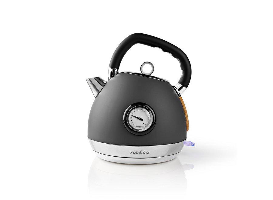 Nedis KAWK530EGY Waterkoker Soft-Touch 1,8L - Grijs