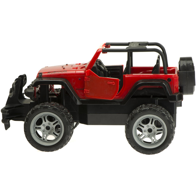 Shuanfeng 8121 Truck RC 27Mhz 1:14 - Rood