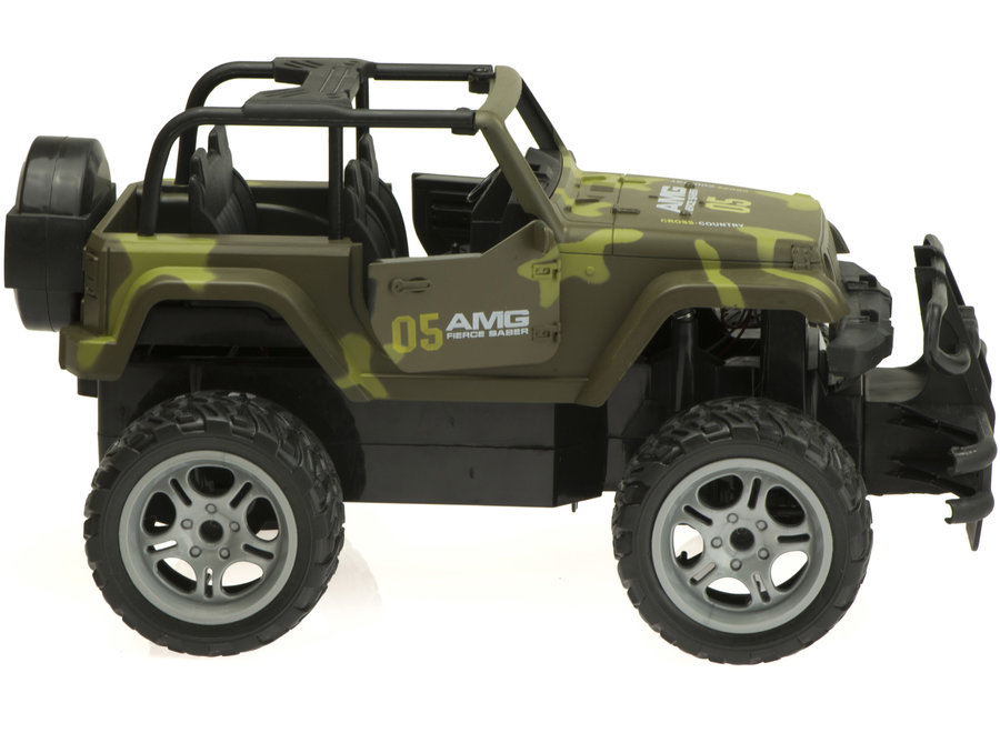 Shuanfeng 8121 Truck RC 27Mhz 1:14 - Camouflage