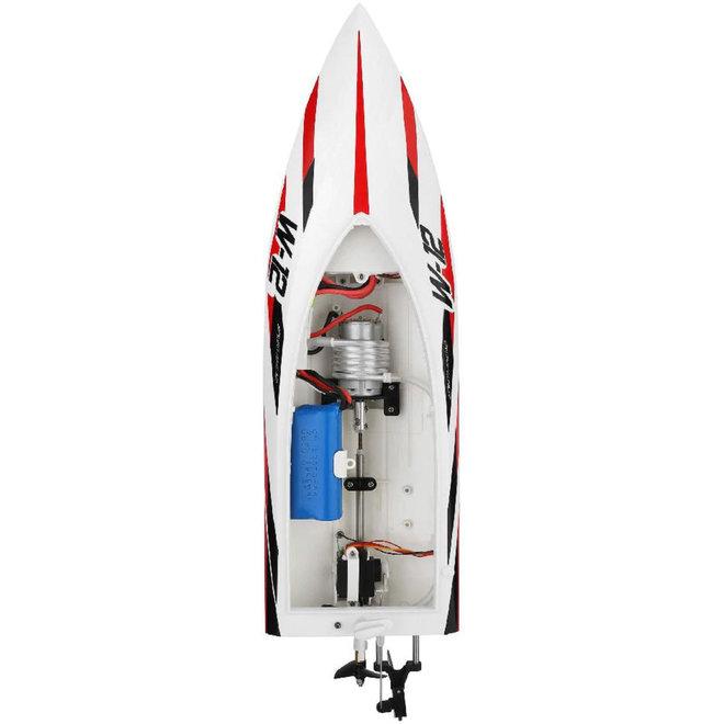 Wltoys WL912-A RC Speedboot 2.4GHz 35 KM/U - Wit