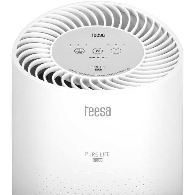 Teesa P500 Pure Life Luchtreiniger met 3-traps Filtersysteem