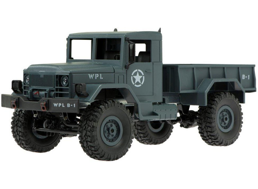 WPL B-14R Militaire Truck RTR 4WD 2.4GHz 1:16