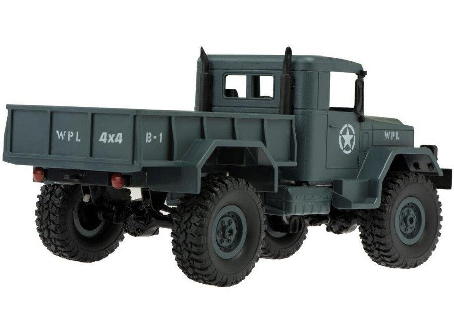 WPL B-14R Militaire Truck RTR 4WD 2.4GHz 1:16 - Legergroen