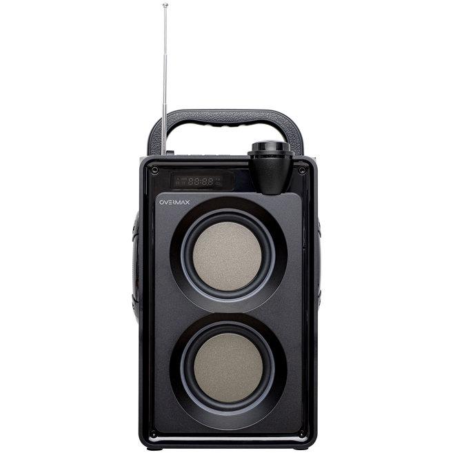 Overmax Soundbeat 5.0 Draadloze Bluetooth Speaker (USB, SD, AUX, Radio, Mic)