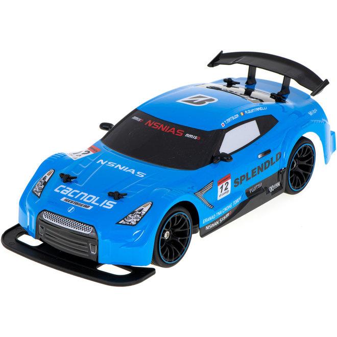 NQD Drift Turbo Furious 9 RTR 4WD 2.4GHz 1:14 - Blauw