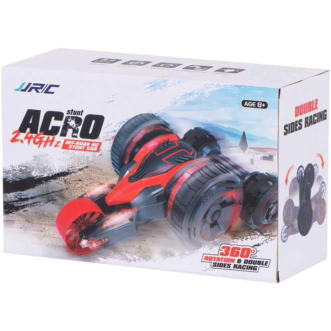 JJR/C Stuntauto Acro Off-Road RC 2.4GHz - Blauw