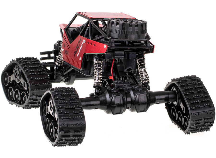 RC LH-C012 Rock Crawler RTR 4WD 2.4GHz 1:16 - Rood