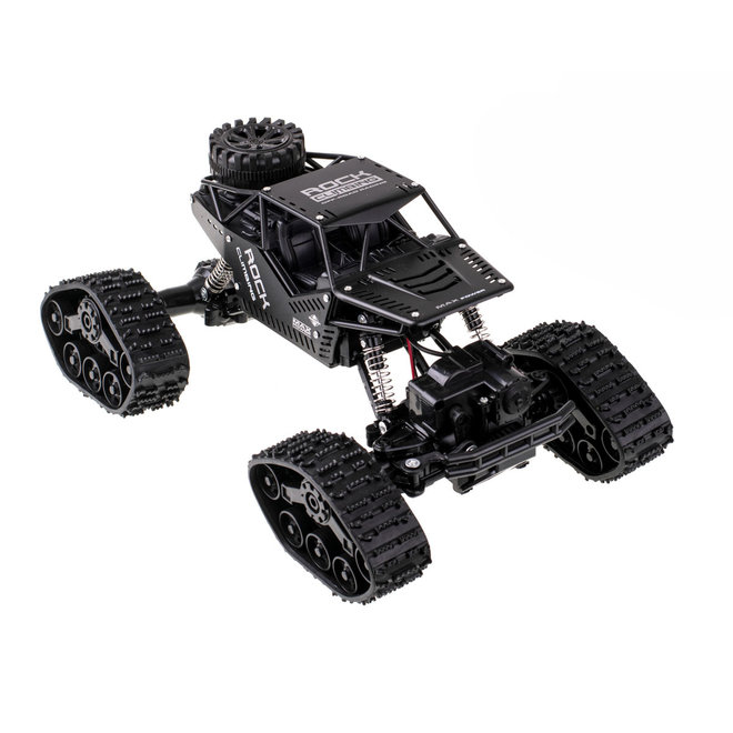 RC LH-C012 Rock Crawler RTR 4WD 2.4GHz 1:16 - Zwart