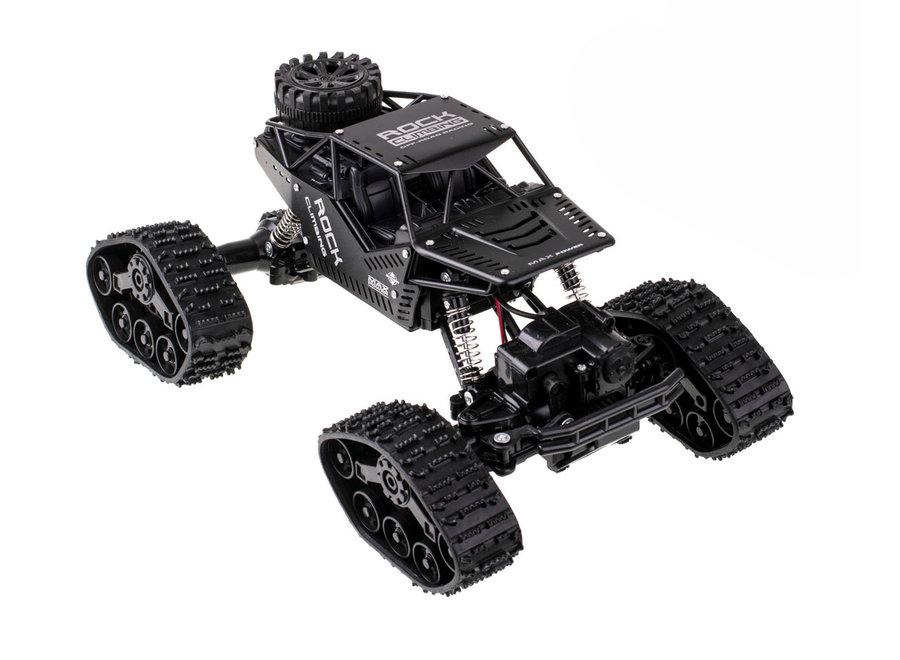 RC LH-C012 Rock Crawler RTR 4WD 2.4GHz 1:16 - Zwart