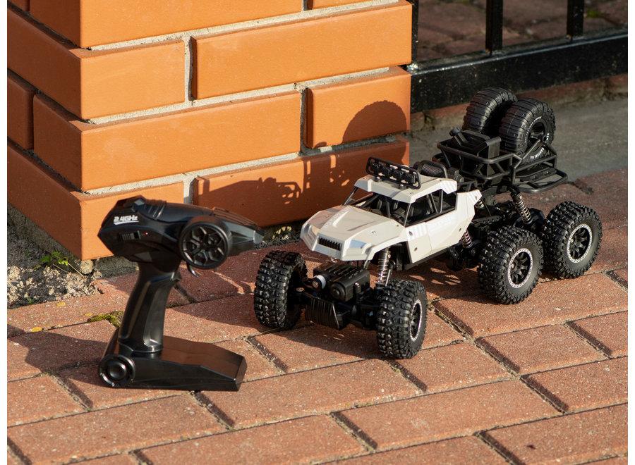 Sulong Toys RC SL-184A Rock Crawler (Grijs, 6WD, 2.4GHz, 1:14)