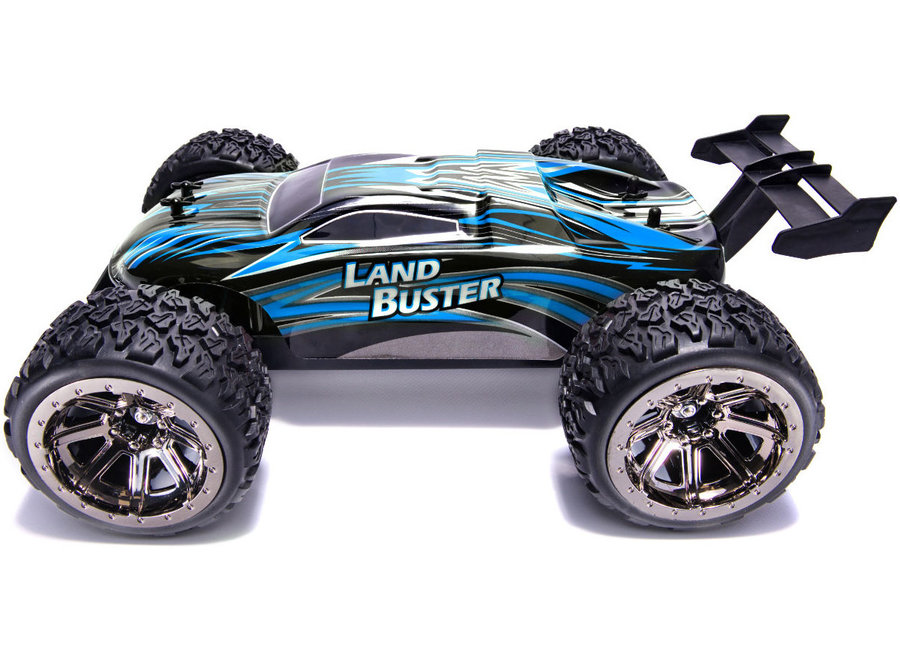 NQD Land Buster Monster Truck RTR 2.4GHz 1:12 - Blauw