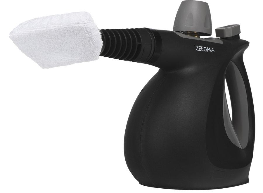 Zeegma Draden Stoomreiniger (Zwart, 1000W, Opzetstukken)