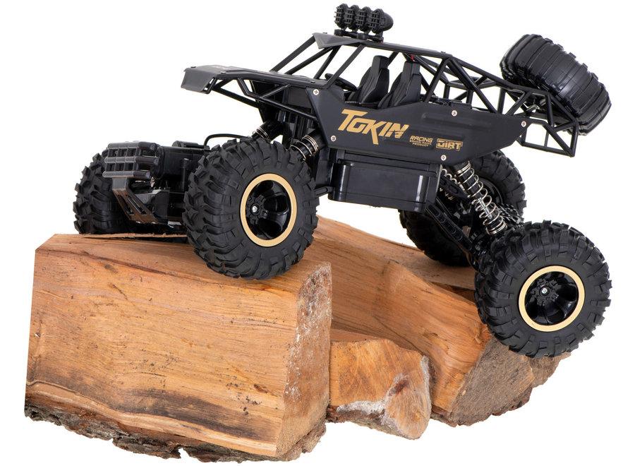 Shuanfeng 6026 RC Rock Crawler (Zwart, 4WD, 2.4GHz, 1/12)