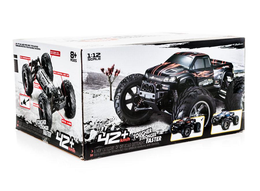 XinLeHong Toys 9115 RC Monster Truck (Blauw, 2WD, 2.4GHz, 1/12)