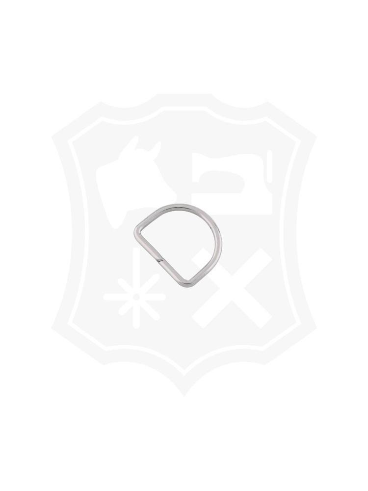 D-Ring, nikkelkleurig, binnenmaat 35,3mm (15 stuks)
