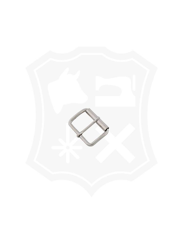 Rechthoekige Rol-Gesp, nikkelkleurig, diverse maten (3 stuks)