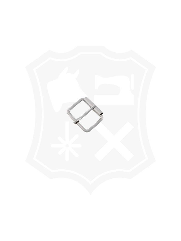 Rechthoekige Rol-Gesp, nikkelkleurig, diverse maten (5 stuks)