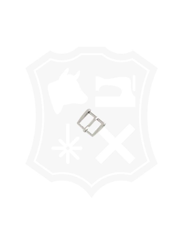 Rechthoekige Gesp, nikkelkleurig, diverse maten (2 stuks)