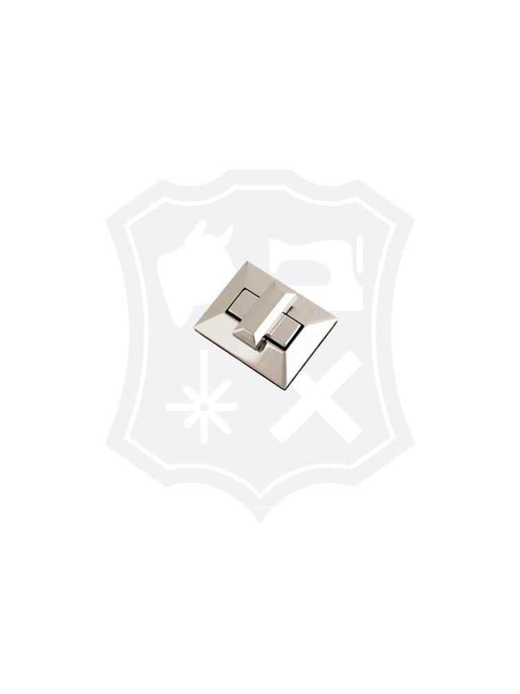 Rechthoekig Draaislot, nikkelkleurig, 40mm x 50mm