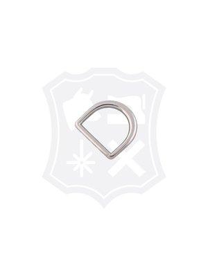 D-  Tashengsel Bevestiging, nikkelkleurig, 20,3mm (4 stuks)