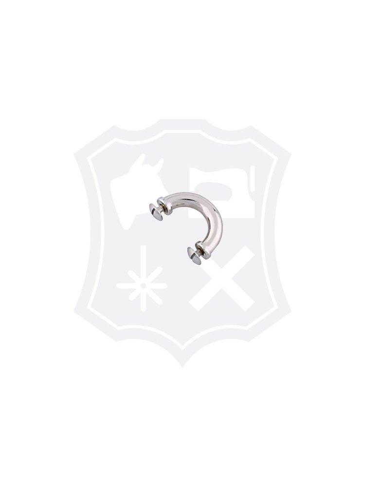Tashengsel Bevestiging, schroef, nikkelkleurig, binnenmaat 16mm (2 stuks)