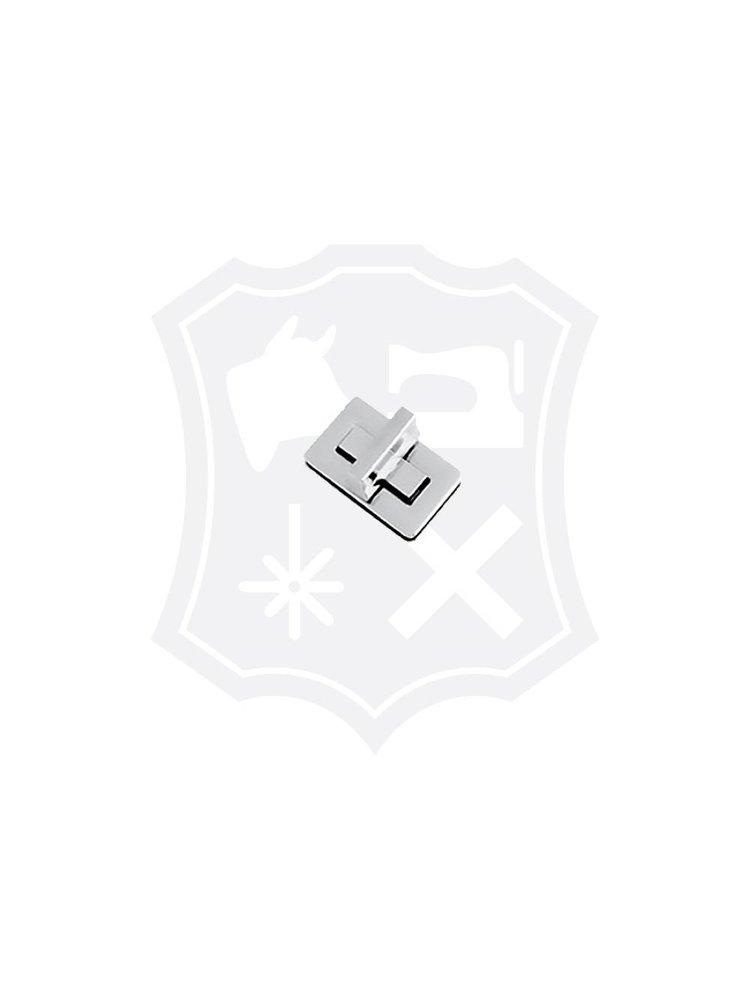 Rechthoekig Draaislot, nikkelkleurig, 37,5mm x 23mm