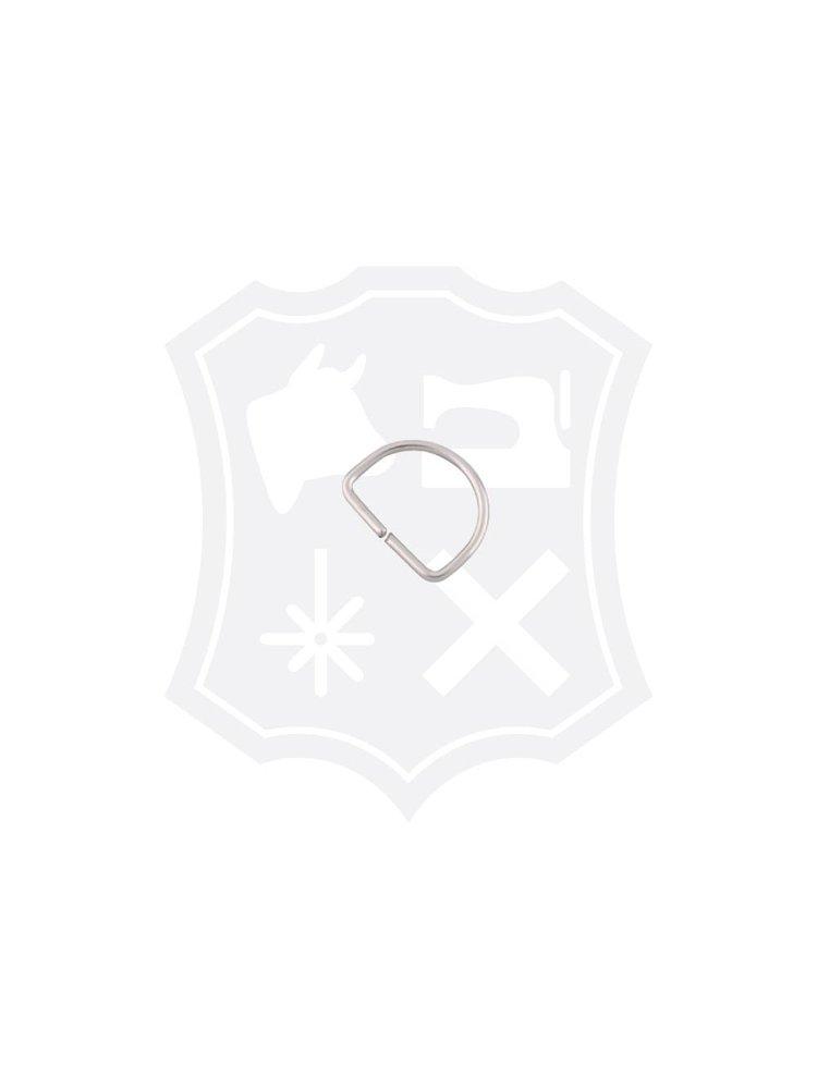 D-Ring, nikkelkleurig, binnenmaat 25,7mm (30 stuks)