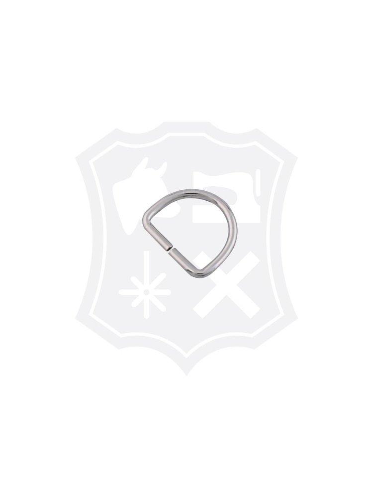 D-Ring, nikkelkleurig, binnenmaat 30,8mm (20 stuks)