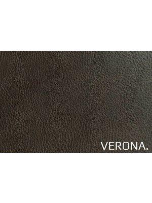 Verona Italiaans Pull-up Leder, volnerf (Y916: Marrone)