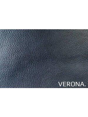 Verona Italiaans Pull-up Leder, volnerf (ZD071: Blu)