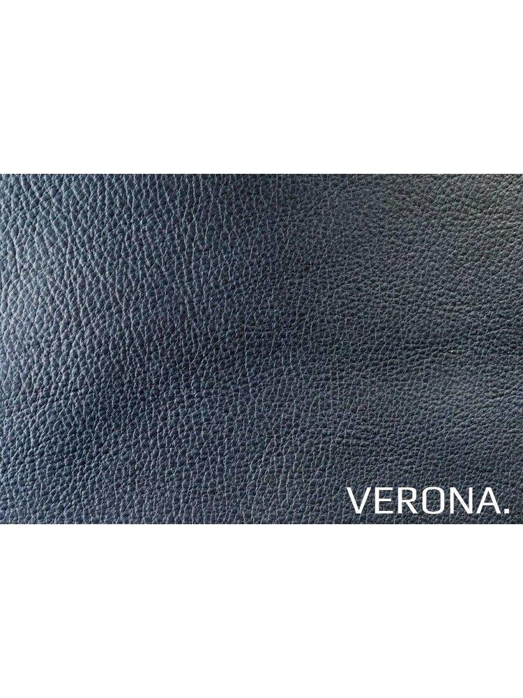 Verona Blu (blauw) - Verona leder
