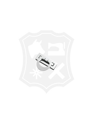 Rechthoekig Slot, nikkelkleurig, 19,5mm x 53mm