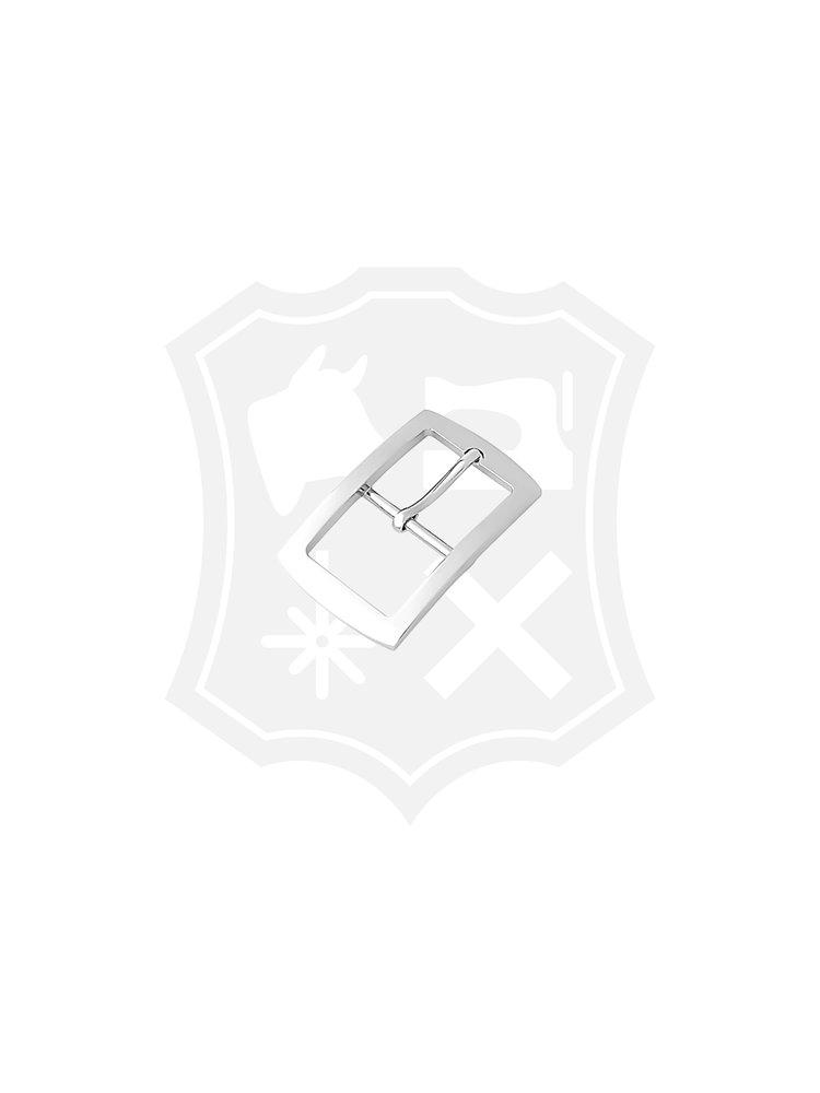 Rechthoekige gesp, nikkelkleurig, binnenmaat 35,8mm
