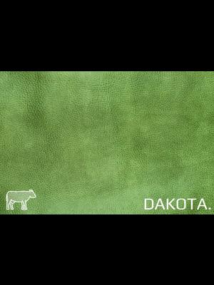 Dakota Analine gelooid nappa leder (e528: Cactus)