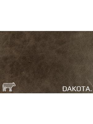 Dakota Aniline gelooid nappa leder (v868: Cacao)