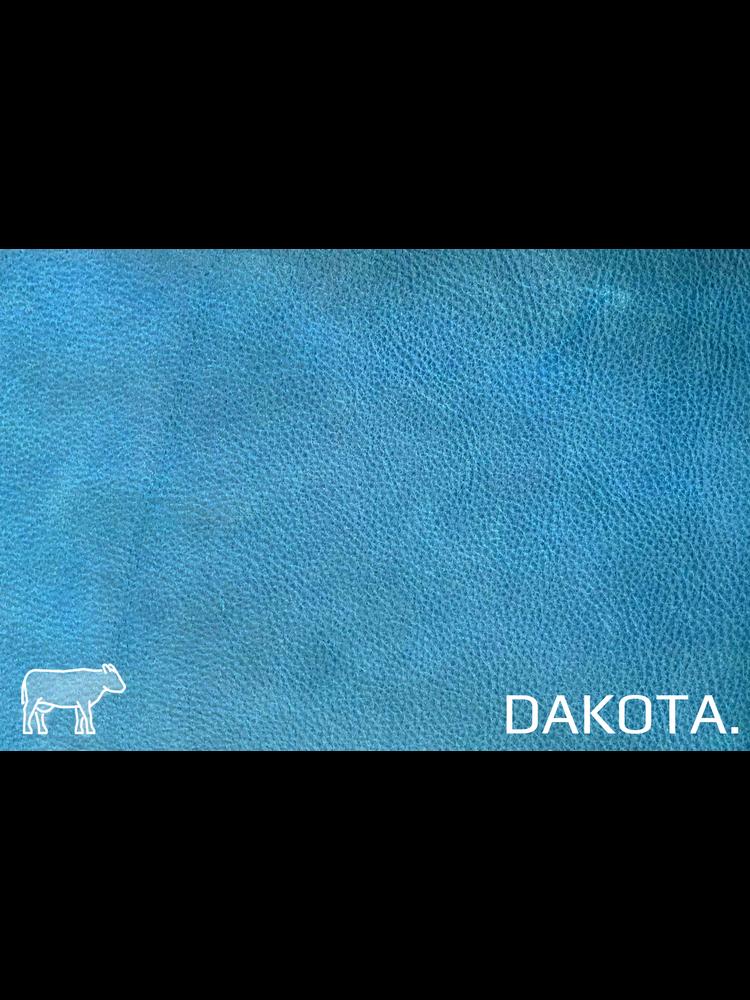 Dakota Turquiose Blauw - Dakota leder