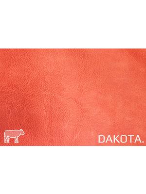 Dakota Aniline gelooid nappa leder (s139: Strawberry)