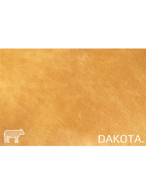 Dakota Analine gelooid nappa leder (w184: Natural)