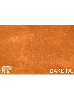 Dakota Aniline gelooid nappa leder (v808: Pumpkin)