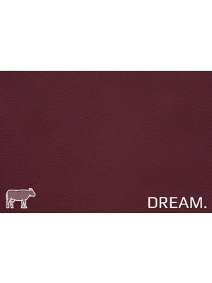 Dream Soepel Nappa leder, volnerf (T19: Red Wine)