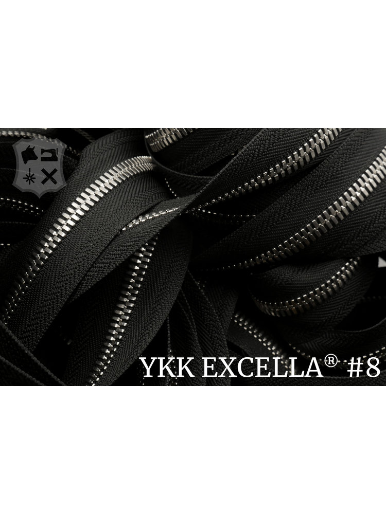 Excella® Excella® #8 Zilver van de rol - zwart (580)