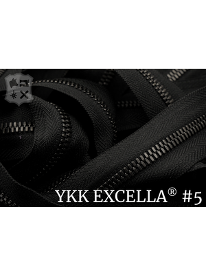 Excella® Excella® #5 Gunmetal van de rol - (ZA19 - Zwart 580)
