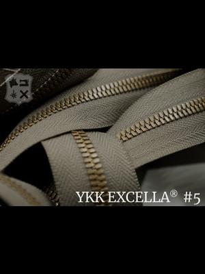 YKK Excella® Excella® #5 Oud-Goud van de rol - (Y05: Taupe 034)