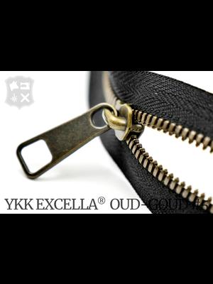 YKK Excella® YKK Excella Rits #5 Oud-Goud  op maat (enkel) - (ZA19 - zwart 580)