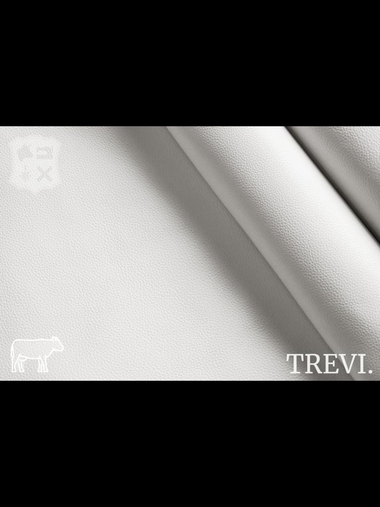 Trevi Bianca - Trevi Leder, wit nappa leder met korrel (nappa leder)