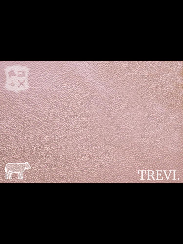 Trevi Rosa - Trevi Leder, roze nappa leder met korrel (nappa leder)