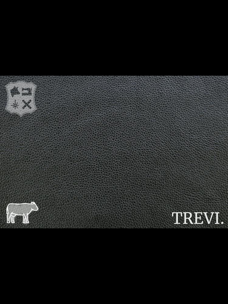 Trevi Nero - Trevi Leder, zwart nappa leder met korrel (nappa leder)